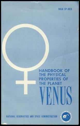 3 NASA Books Venus, Mars & Jupiter