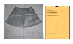 Photos Map of Jupiter Moon Calisto