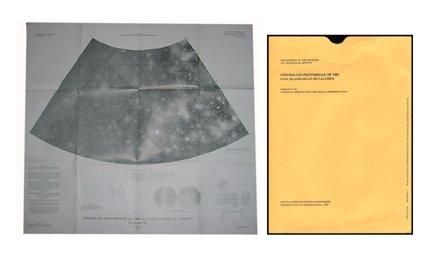 7: Photos Map of Jupiter Moon Calisto