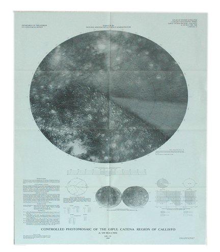 7A: 11 Maps of Jupiter Moon Calisto