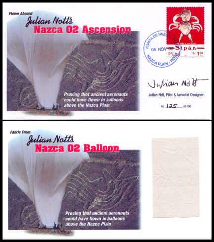 "9: Nott's ""Nazca 02"" Balloon Cover"