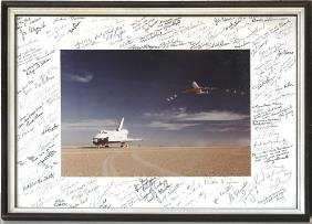 Assorted Shuttle Astronaut Autographs