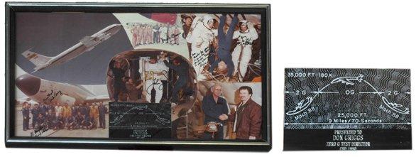 592: Assorted Shuttle Astronaut Autographs