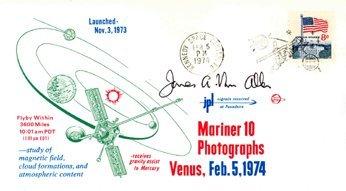 1: Astronomer D34James Van Allen Autograph
