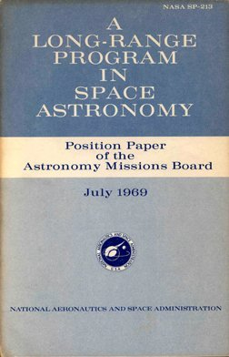 """8:  """"Program In Space Astronomy NASA SP-213"""""""