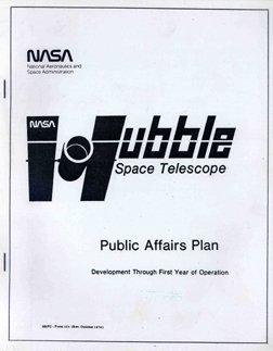 9: Hubble Space Telescope Public Affairs Plan