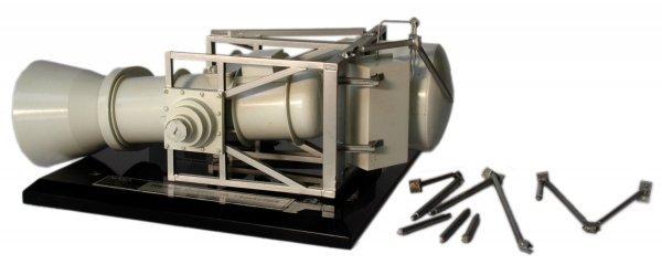 "21: NASA ""Helium Cooled IR Telescope"" Model"