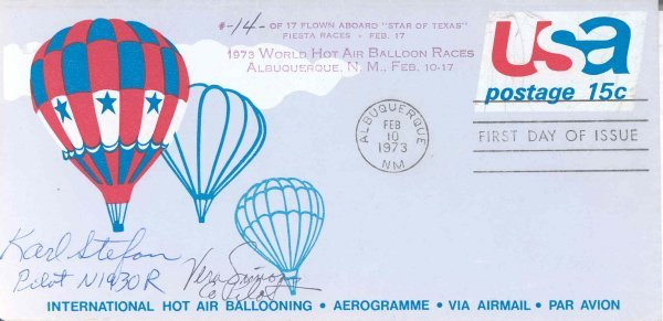25: World Hot Air Balloon Races Flown Cover