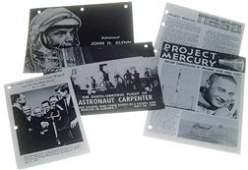 217: 1961//1962, Lot of 5 Mercury NASA Brochures
