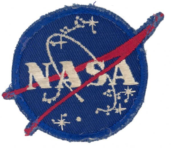 "321: Gemini GT-12 FLOWN NASA ""Meatball"" Patch"