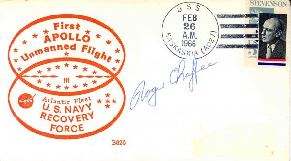 444: Apollo 1 'Roger Chaffee Autograph