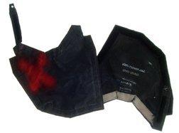 850: Shuttle Black Vinyl Protector Pad