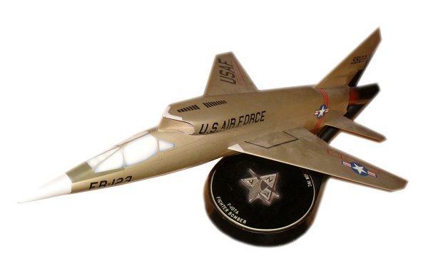 1584M: North American Aviation F-107A Model