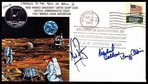 358: Flown Apollo 11 Cover