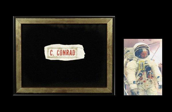 "432:Apollo 12Charles ""Pete"" Conrad Nametag"