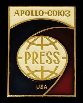 681: ASTP Press Badge