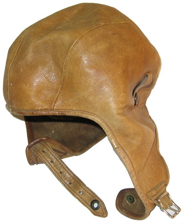 3: Leather Flight Helmet