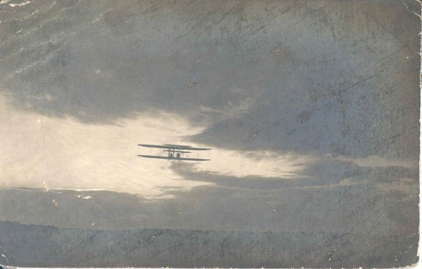 Wilbur Wright 1908 Autograph on LeMans Flyer  Postcard