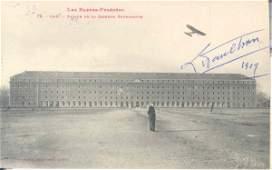 40: French Aviator Pilot # 10 Louis Paulhan Autograph
