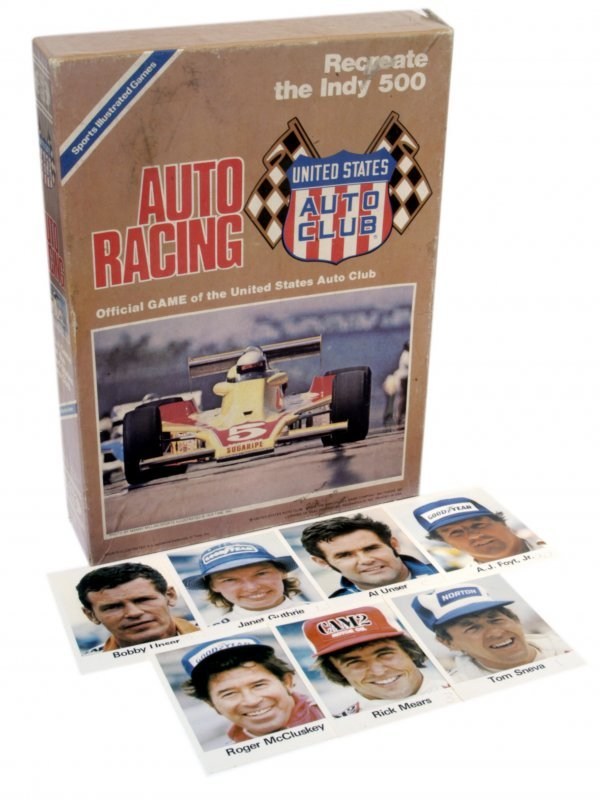 "61: 1970 ""Auto Racing"" Game"