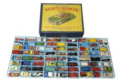 68: Matchbox Deluxe Collectors Case with 72 Miniature C