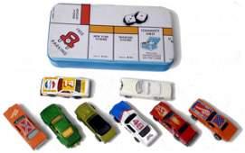 73: Lot of 8 Miniature Hot Wheels, Matchbox Etc. Toy Ca