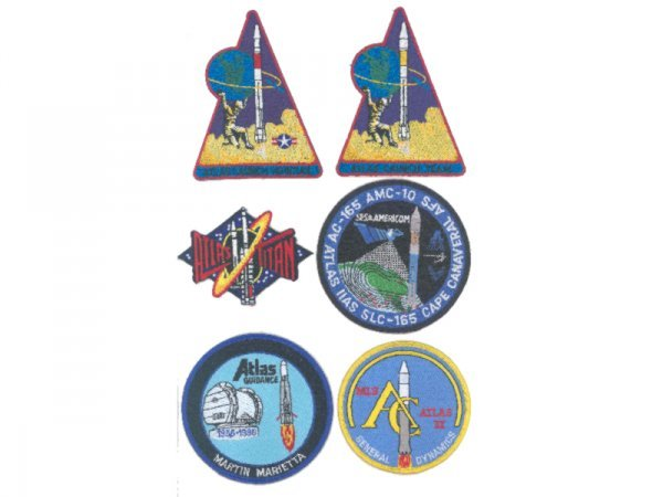 11: Atlas Rocket and Launch Team Patches