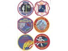12 Apollo Pennsylvania Moonlanding Patches