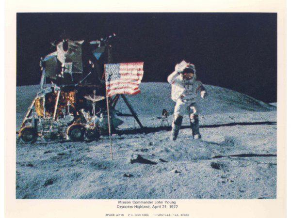 12 Apollo 16 Photographs