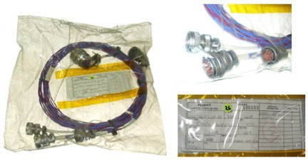 643: Space Shuttle Cable Harness