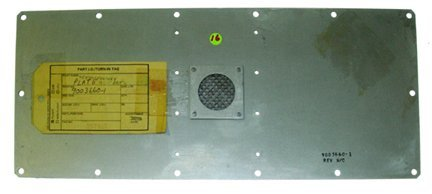656: Space Shuttle Plate Panel