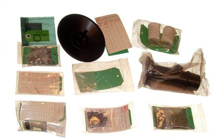 662: Lot of 10 Assorted Space Shuttle Parts