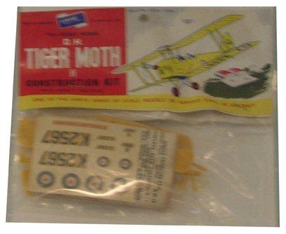 2003: Airfix 1950's D.H. Tiger Moth II Plastic Model Ki