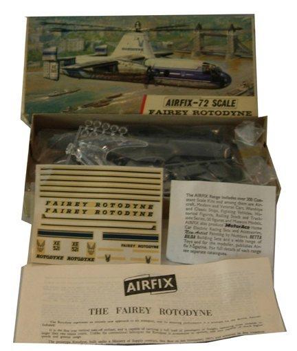 2008: Airfix 1950's Fairey Rotodyne Plastic Model Kit M