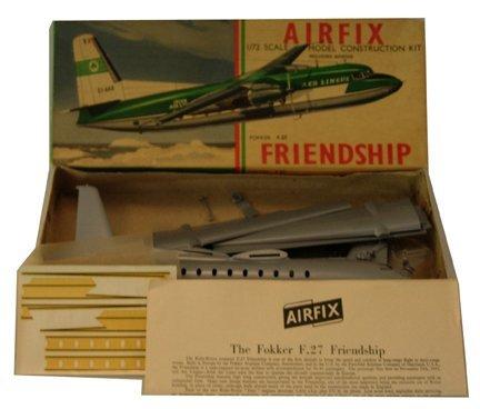 2009: Airfix 1950s Fokker F-27 Friendship Plastic Model