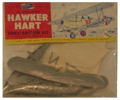 2012: Airfix 1950's Hawker Hart 1:72 Plastic Model Kit