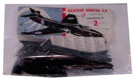 2013: Airfix 1950's Hawker Hunter F-6 1:72 Plastic Mode