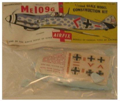 2015: Airfix 1950's Messerschmitt Me109G 1:72 Plastic M