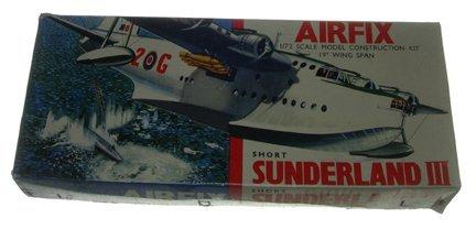 2018: Airfix 1950s Short Sunderland III 1:72 Plastic Mo