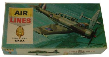 2022: Airlines 1954 English Blackburn Skua 1:72 Plastic