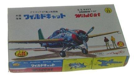 2023: Aoshima 1950's US Navy Grumman F-4FWildcat 1:72 P