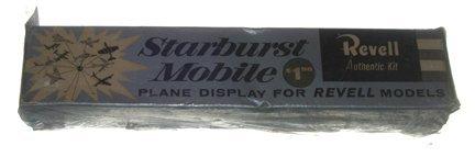 2164: Revell 1950's Starburst Mobile Plastic Model Kit - Jun