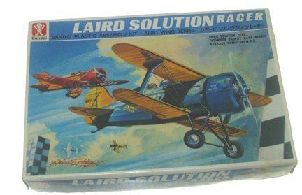 2322: Bandai 1960's Laird Solution Racer Plastic Model