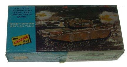 2500: Lindbergh 1960 Centurion British Tank Plastic Mod