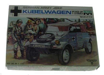 2503: Okano 1960s German Army Jeep Kubelwagen 1:32 Plas