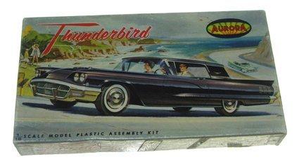 2508: Aurora 1962 Thunderbird (4 Seat 1958 classic) Pla