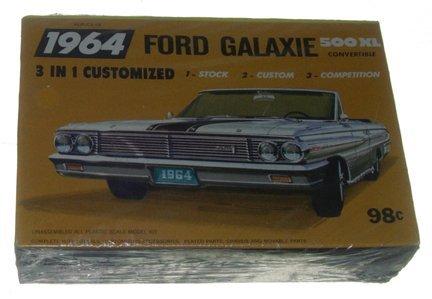 2516: Palmer Plastic 1964 Ford Galaxie 500 XL Convertib