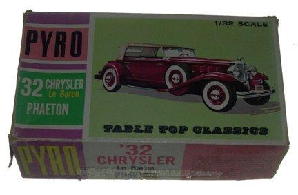 2520: Pyro 1966 32 Chrysler Le Baron 1:32 Plastic Model