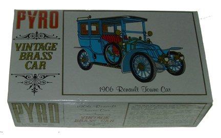 2523: Pyro 1967 1906 Renault Towne Car Vintage Brass Ca