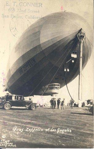6: Graf Zeppelin Commemorative 65 C US Postage Stamps